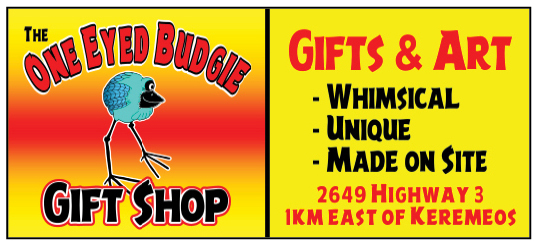 The One Eyed Budgie Gift Shop